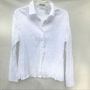 White Stag white stretch shirt size XL (16/18)